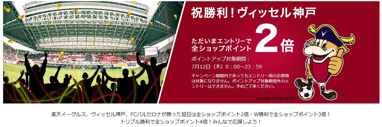 ヴィッセル神戸 ポイント キャンペーン