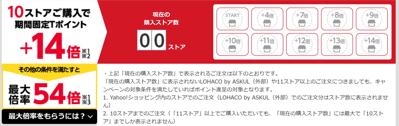 LINEショッピング 特別優待キャンペーン 10% ポイント せどり Yahoo! 10ストア購入 14倍