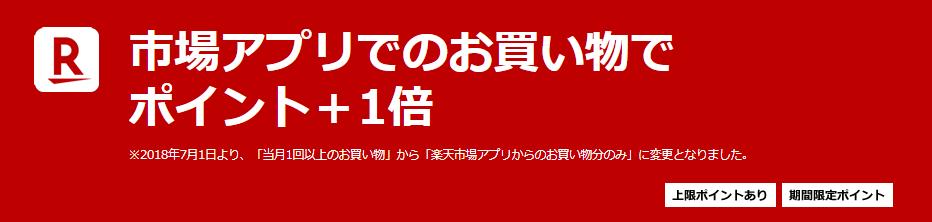 楽天 SPU アプリ